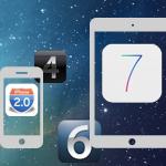 iOS 1 – iOS 8