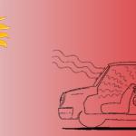 ลดความร้อนใน 10 วินาที เมื่อต้องจอดรถตากแดด