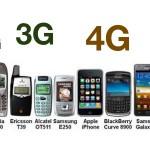 โทรศัพท์ 1G – 4G คืออะไร