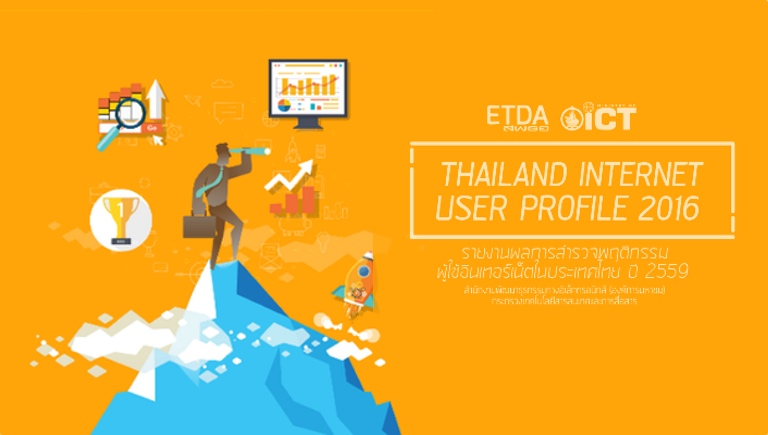 Thailand Internet users 2016