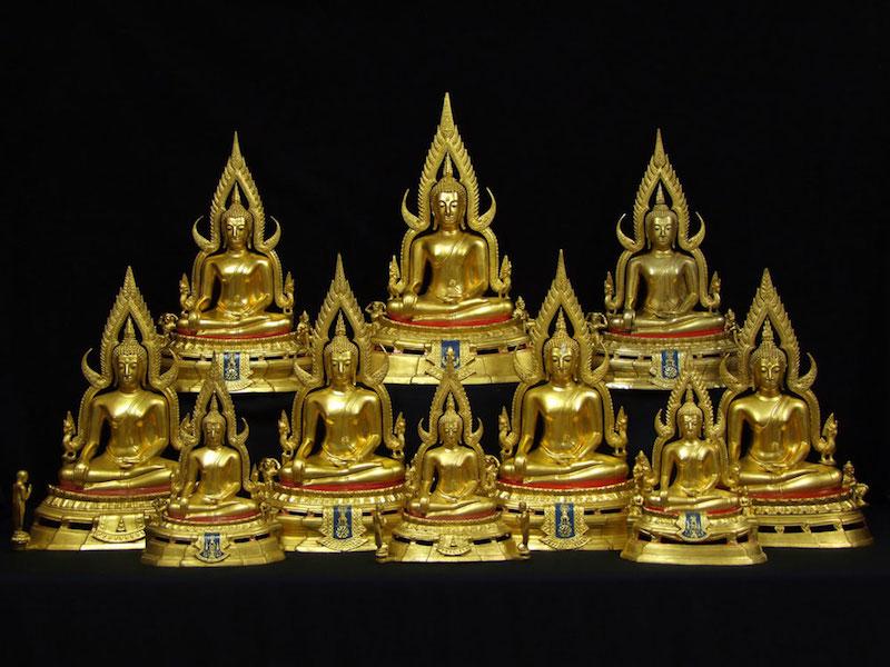 พระบูชาพระพุทธชินราช ภปร. กองทัพภาคที่ 3 ปี 2517